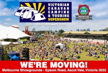 The Victorian Caravan, Camping & Touring Supershow is on the move!
